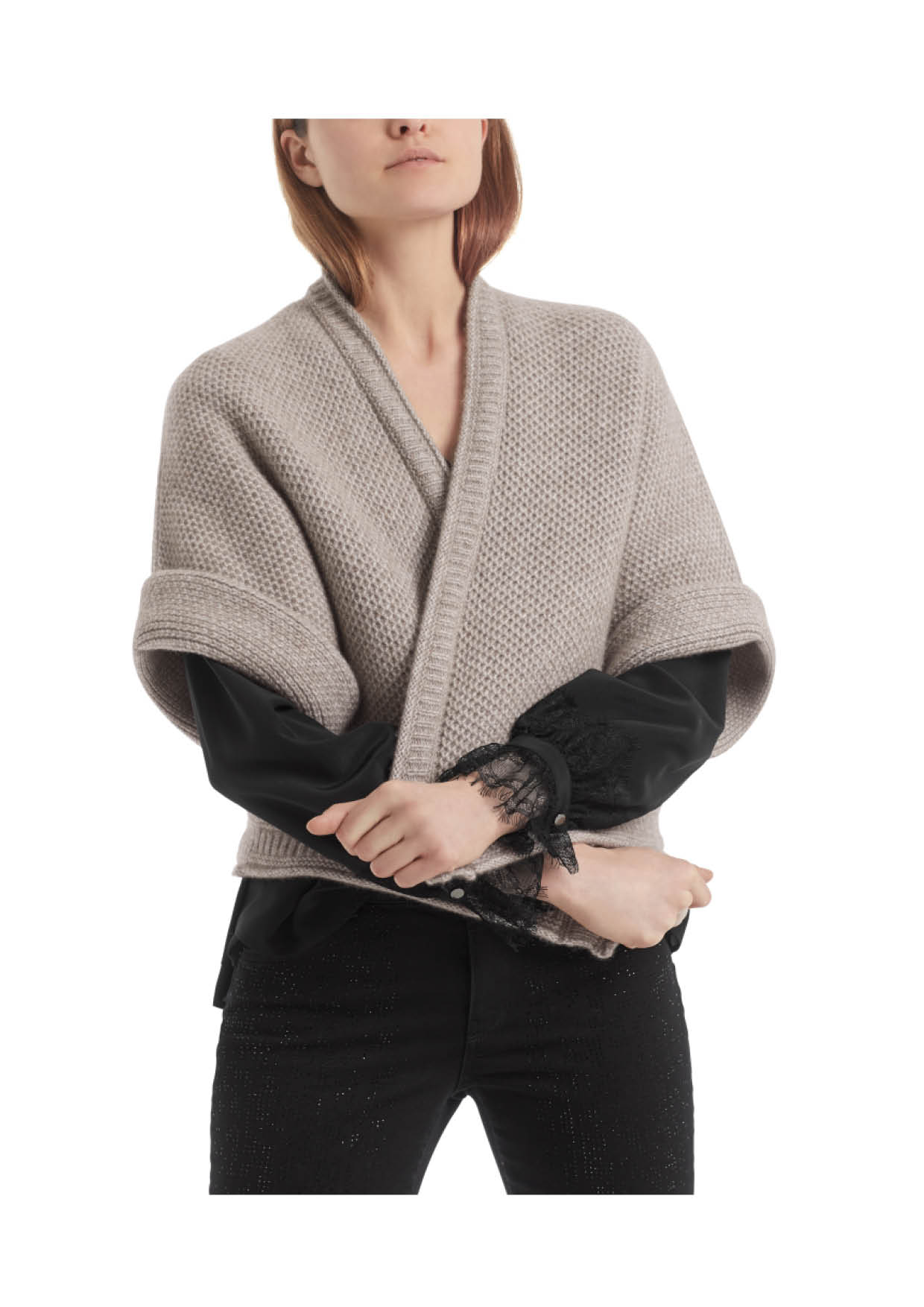 Capejacke Knitted in Germany